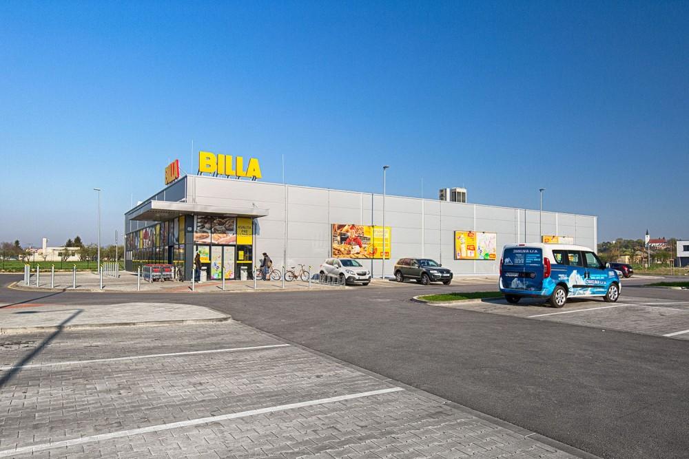 BILLA Bernolákovo, dodávka a montáž vzduchotechniky