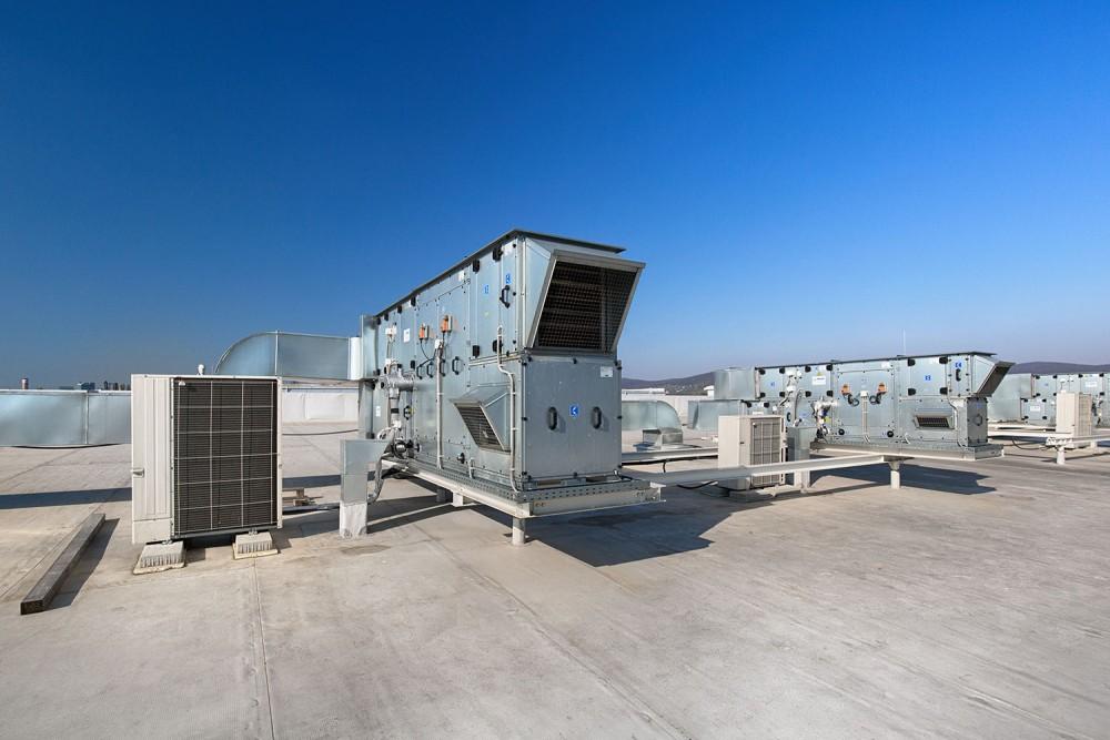 GGT Tabak, dodávka a montáž vzduchotechniky, klimatizácia