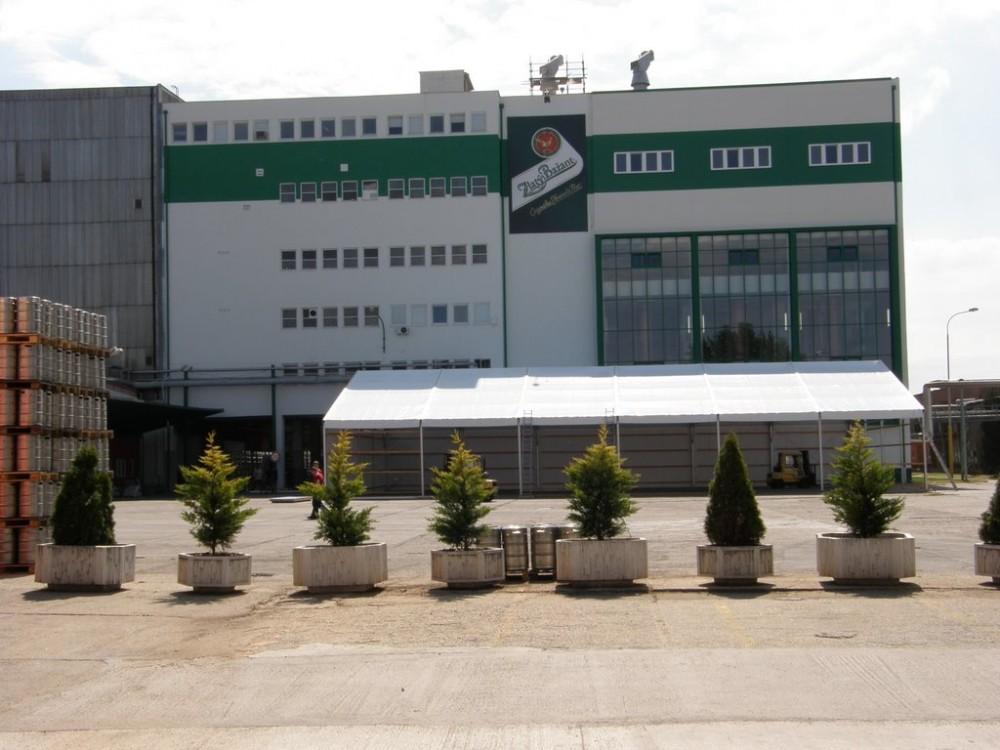 Heineken Slovakia, Pivovar Zlatý Bažant, Hurbanovo, dodávka a montáž VZT